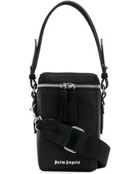 Palm Angels Top-handle Box Bag - Black