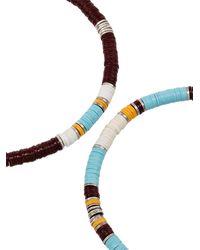 M. Cohen Set aus zwei Rainbow Armbändern - Weiß