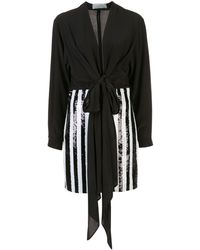 Silvia Tcherassi スパンコール ドレス - ブラック