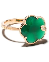 Pasquale Bruni 18kt Rose Gold Petit Jolie Agate And Diamond Ring - Multicolor