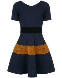 Guild Prime - Lace Panelled Dress - Lyst