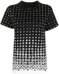 10 Corso Como プリント Tシャツ - ブラック