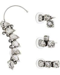 Saint Laurent - Embellished Cuff Earring - Lyst