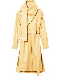 Proenza Schouler Платье С Драпировкой - Желтый