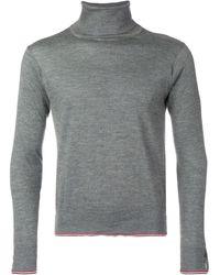 Thom Browne カシミア タートルネックセーター - グレー