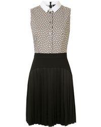 Paule Ka - Kleid mit geometrischem Print - Lyst