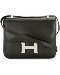 Hermès Borsa a spalla Constance 1998 Pre-owned - Nero