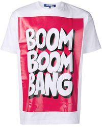 Junya Watanabe Boom Boom Bang Tシャツ - ホワイト
