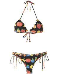 Amir Slama Set bikini due pezzi - Nero