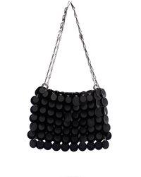 Paco Rabanne Sparkle Sequin-embellished Shoulder Bag - Black