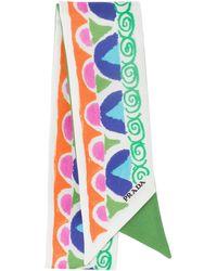 Prada Printed Ribbon