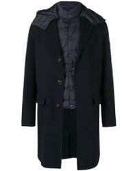 Moncler - Layered Coat - Lyst