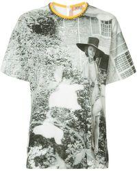 N°21 Printed T-shirt - White