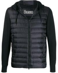 Herno Hooded Puffer Jacket - Black