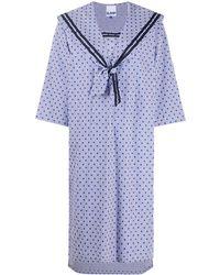 SJYP ポルカドット ドレス - ブルー