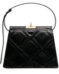 GU_DE Gabriel Quilted Tote Bag - Black