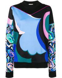 Emilio Pucci - Abstract Print Sweatshirt - Lyst