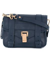 Proenza Schouler Ps1 Mini Crossbody - Blauw