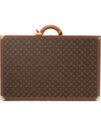 Louis Vuitton Pre-owned Alter 75 Trunk Hard Case Bag - Brown