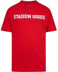 Stadium Goods Collegiate Short-sleeve T-shirt - Red