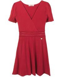 Twin Set - Vネック ドレス - Lyst