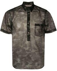 Comme des Garçons Рубашка С Камуфляжным Принтом - Многоцветный
