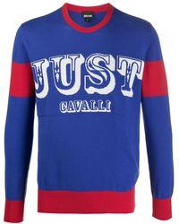Just Cavalli - ロゴ セーター - Lyst