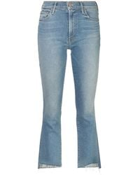 Mother Bootcut Jeans - Blauw