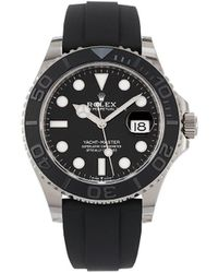 Rolex Reloj Yacht-Master de 42mm 2020 sin uso - Negro