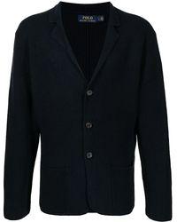 Polo Ralph Lauren ジャケットスタイル カーディガン - ブルー