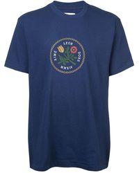 Aimé Leon Dore Logo Print T-shirt - ブルー