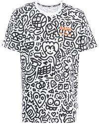 PUMA X Mr Doodle グラフィック Tシャツ - ホワイト