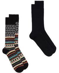 Anonymous Ism X-mas Pack Socks - ブラック