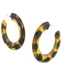 Cult Gaia Kennedy Hoop Earrings - マルチカラー