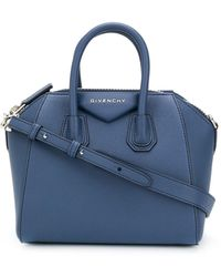 Givenchy アンティゴナ ハンドバッグ ミニ - ブルー