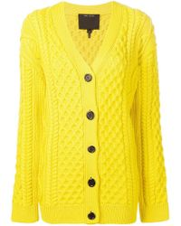 Marc Jacobs - Chunky Knit Cardigan - Lyst