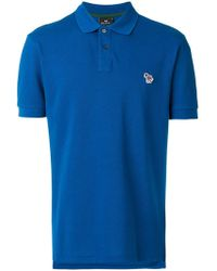 PS by Paul Smith - Embroidered Logo Polo Shirt - Lyst