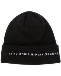 Boris Bidjan Saberi 11 - Branded Knit Cap - Lyst