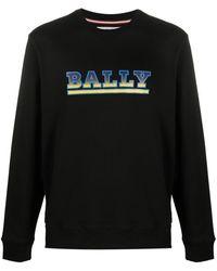 Bally Logo Stamp Sweatshirt - Black