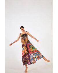 FARM Rio Mix Scarf Maxi Dress - Multicolor