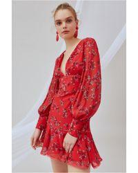 d1a2f0a4529 Keepsake - Heart And Soul Long Sleeve Mini Dress - Lyst
