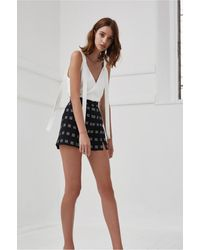 C/meo Collective - Spelt Out Print Short - Lyst