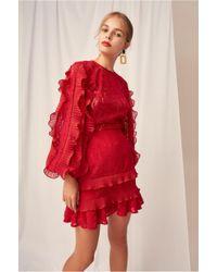 Keepsake Timeless Skirt - Red