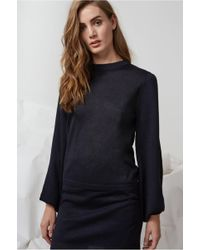 Finders Keepers - Folds Long Sleeve Knit Jumper - Lyst