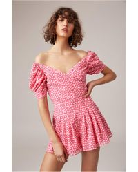 C/meo Collective - Be About You Playsuit - Lyst