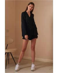 02c4e3eb2c The Fifth Label - Florence Long Sleeve Playsuit - Lyst