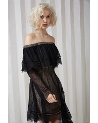 Keepsake - Slide Long Sleeve Lace Dress - Lyst