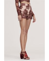 Finders Keepers - Spectral Lace Short - Lyst