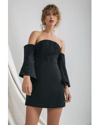 C/meo Collective - Paradise Long Sleeve Dress - Lyst