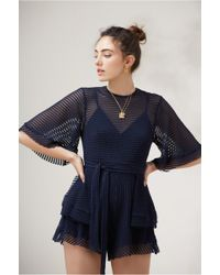 Finders Keepers - Mirage Playsuit - Lyst